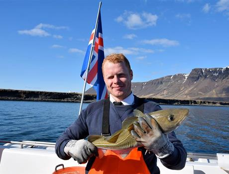 Sea Angling Tour from Reykjavik