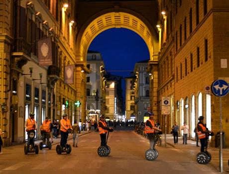 Segway Tour: Florence by Night