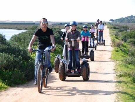 Segway tour: Ria Formosa Natural Park from Faro