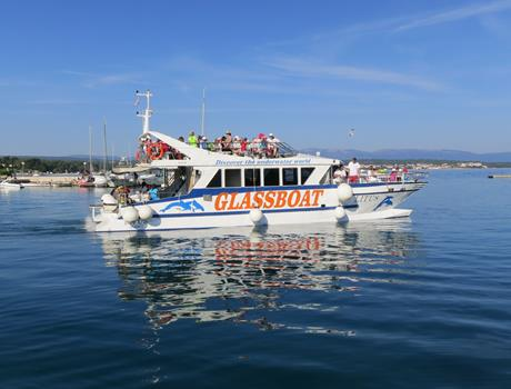 Sightseeing cruise of Istrian peninsula from Krk