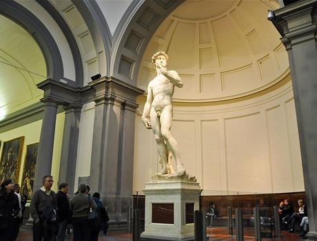 Guided Tour: Accademia AM Uffizi Galleries PM with Skip the line Tickets from Florence