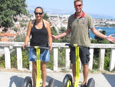 Split Private Tour by Segway