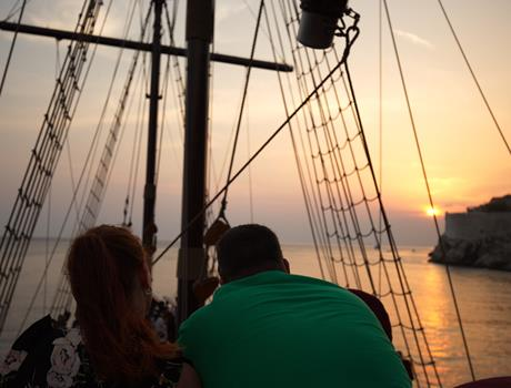 Sunset And Dinner Cruise in Dubrovnik