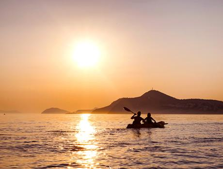 Sunset Kayaking Tour at Adriatic Sea  from Dubrovnik