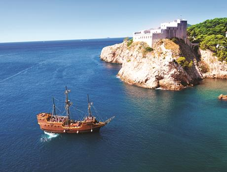 Galleon Tirena Elaphite Cruise Tour with Lunch and Hotel Pick up from Dubrovnik