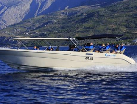The Five Islands speedboat tour from Makarska