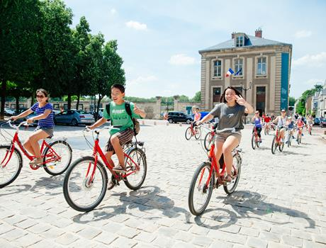 VIP Versailles Bike Tour from Paris