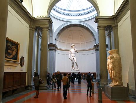 Accademia Gallery with Skip the Line Tickets from Florence