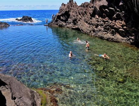 Full Day Jeep Trip on Madeira Island from Funchal - Volcanic Pools and Unesco Forest