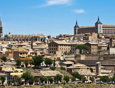 Toledo Half Day Tour + Royal Site of Aranjuez from Madrid