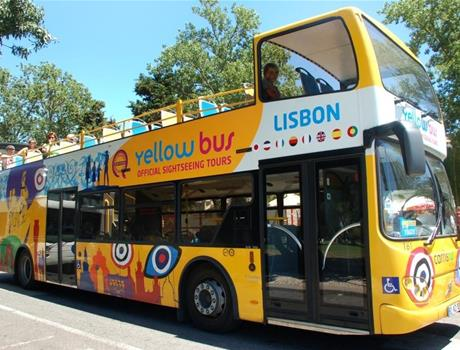 5-in-1 Lisbon Hop-On Hop-Off Bus and Tram tour: Tagus, Olisipo, Belem, Hills and Castle Tramcar Tour (48h)