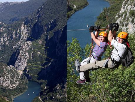 Zipline Adventure Tour in Omiš