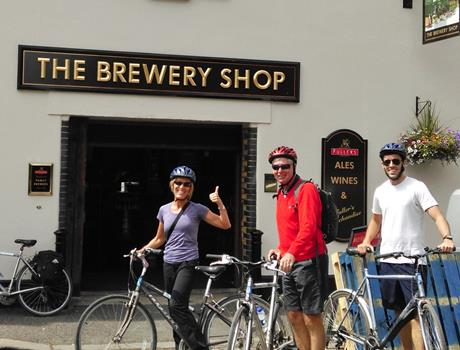 Half Day - Ale Tasting Bike Tour from London