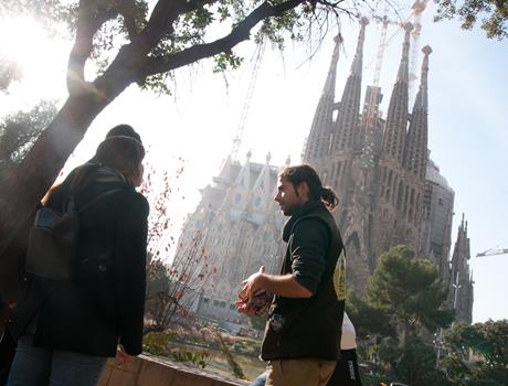 E-bike Tour: Gaudi & Sagrada Familia Skip the line tickets from Barcelona