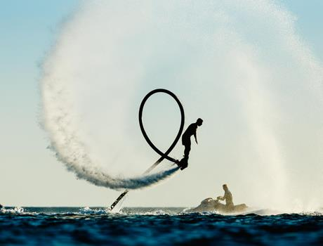 Flyboarding Adventure from Prague