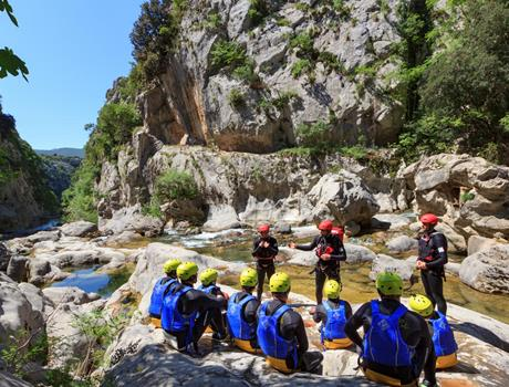 Canyoning Cetina River from Split