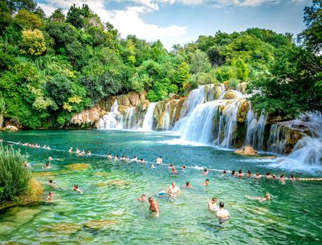 Full Day National Park Krka and Skradin Tour from Split