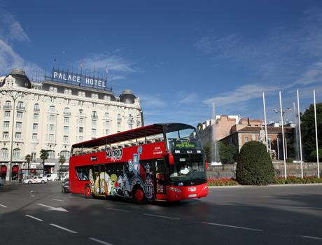 Madrid Sightseeing Hop-On Hop-Off Bus Tour