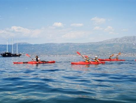 Morning or Afternoon Sea Kayak Tour around Marjan Hill from Split