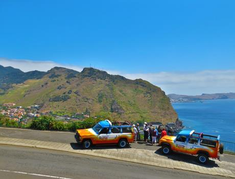 Half Day Afternoon Rising Sun Tour from Funchal