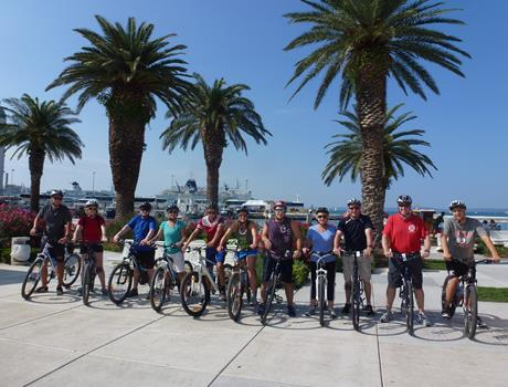 Bike tour: Beautiful Morning in Split