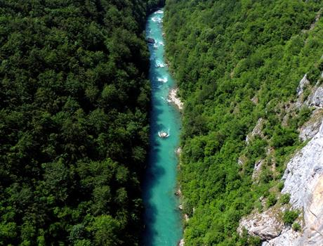 Rafting tour on the river Tara from Dubrovnik