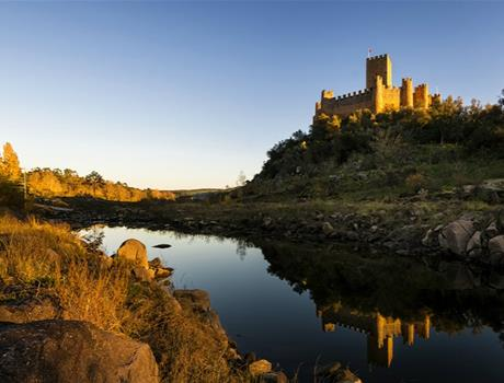 Templar River - Tomar and Almourol Private Tour from Lisbon
