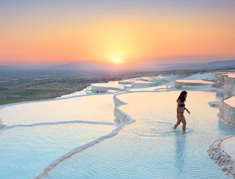 Day tour to Pamukkale from Bodrum