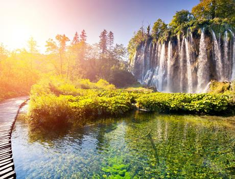 Full Day Tour from Zagreb to Split or Zadar with a stop at National Park Plitvice Lakes