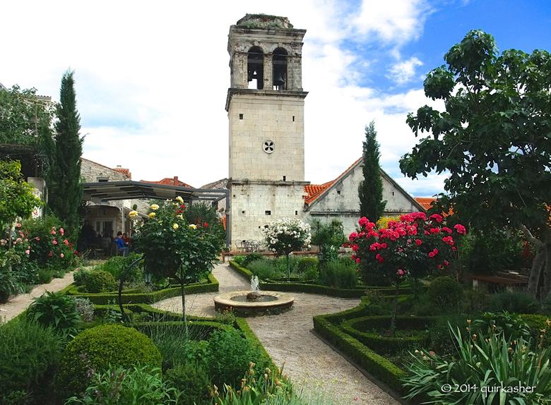 Garden of the monastery of St. Lawrence
