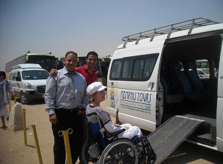 Accessible wheelchair excursion to Cairo from Ein El Sokhna Port