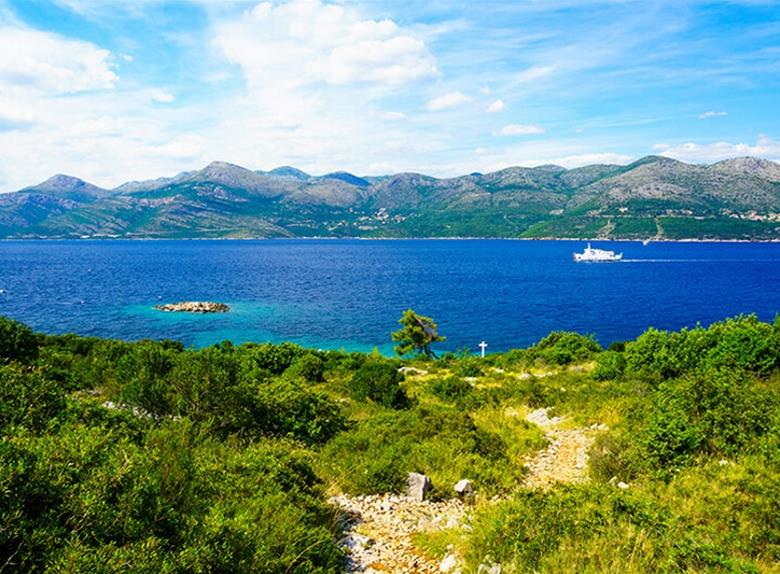 Speedboat Group Tour of Elaphite Islands & Stonfrom Dubrovnik