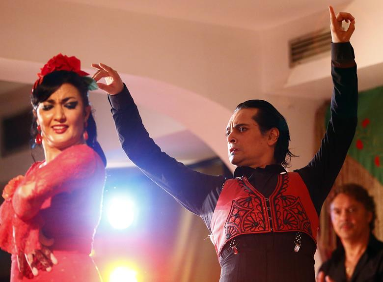 Flamenco Masterclass Show in Madridwith Dinner at the Café the Chinitas