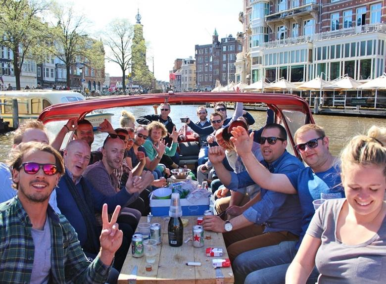 Amsterdam: Prosecco Canal Cruise Tour
