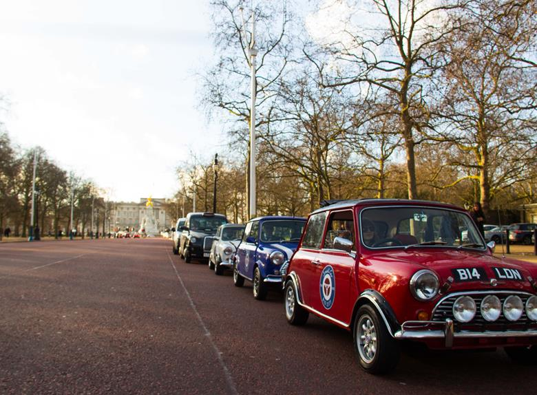 Private Tour of London in a British Classic Car