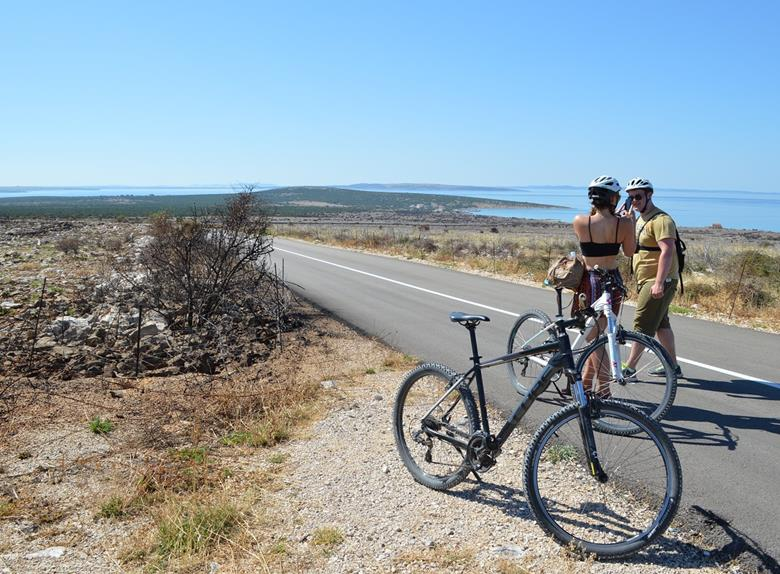 Half Day Bike Tour in Pag