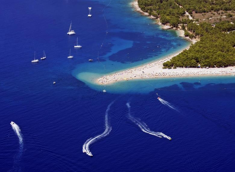 BoatTrip: Hvar, the bays of Pakleni Islands & Brač from Split