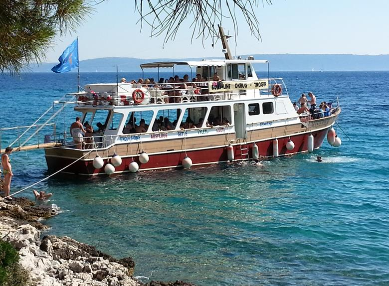 Three Islands Boat Tour from Trogir