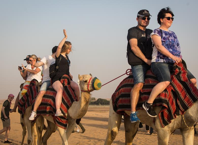 Camel Ride Experience and Arabic Breakfast in the Desert from Dubai & Ajman & Sharjah