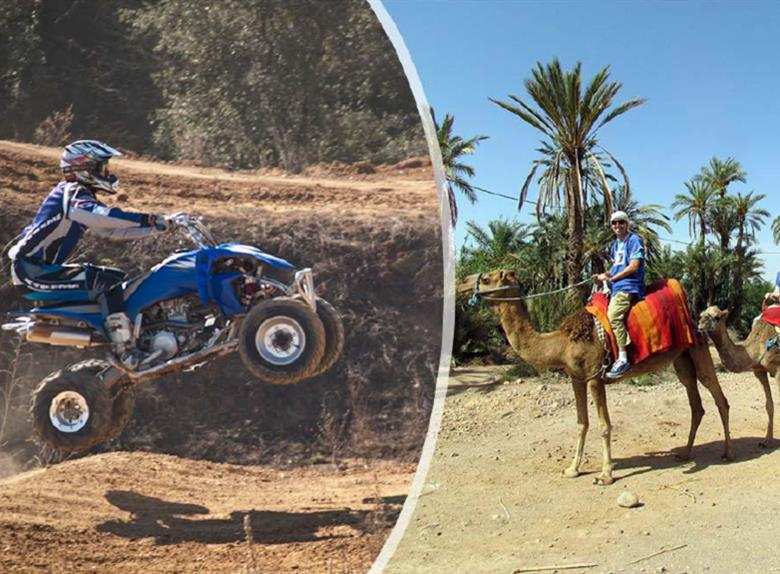 Camel Ride & Quad Bike in Marrakesh Palmeraie