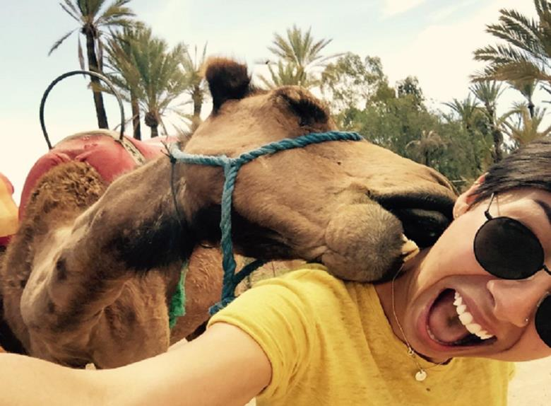 Camel Ride in Marrakesh