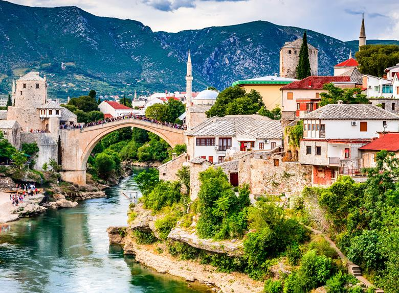 Daily Tour to Mostar, Počitelj and Kravice Waterfalls from Split & Trogir