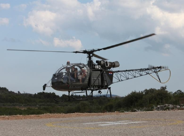 15 minute Helicopter Panoramic Flight over Vodice