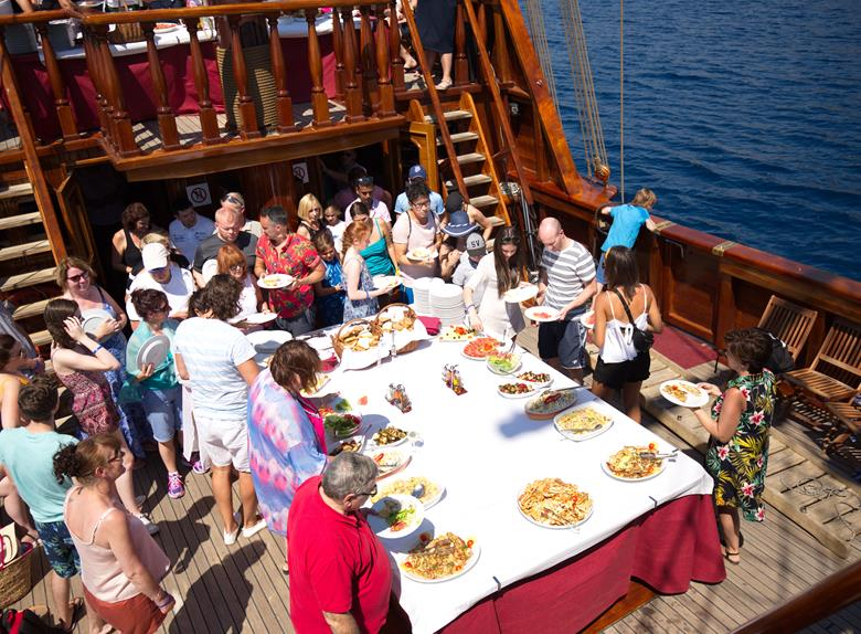 Full Day Tour to Elaphiti Islands by Carrack ship from Dubrovnik