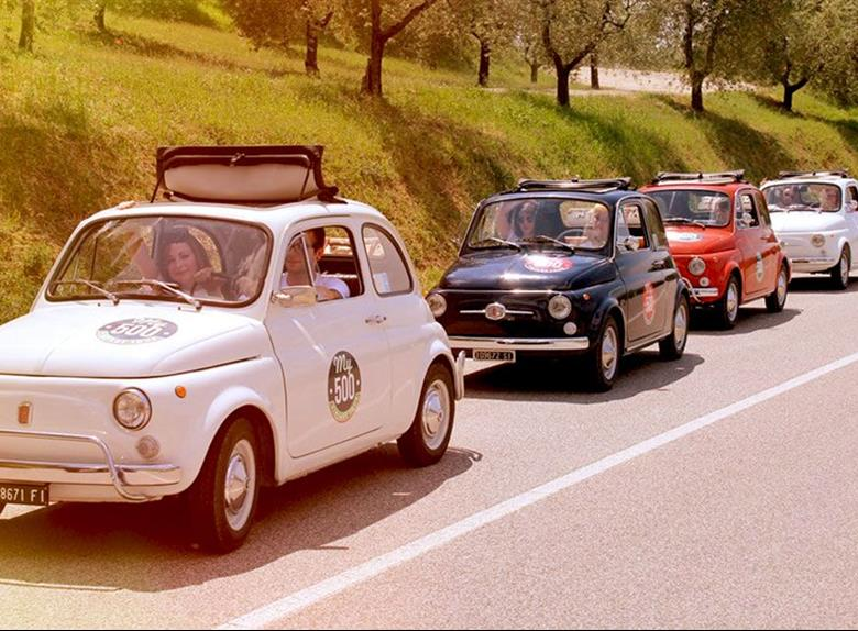 Florence Panoramic Tour By Vintage Fiat 500 From Lucca 2019 Happytovisit Com