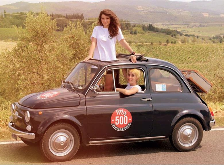 florence panoramic tour on an original fiat 500 from pisa. Black Bedroom Furniture Sets. Home Design Ideas
