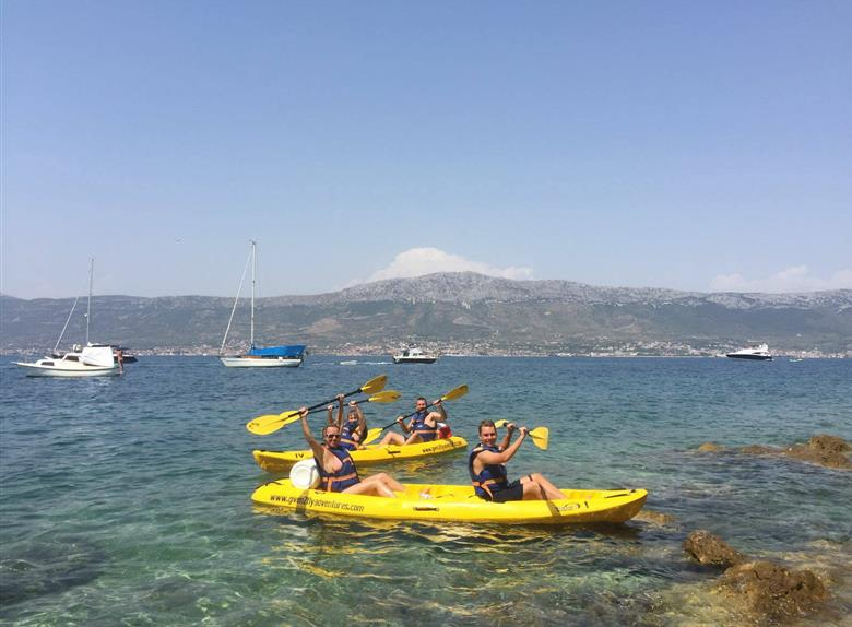 Marjan Sea Kayaking Tour from Split