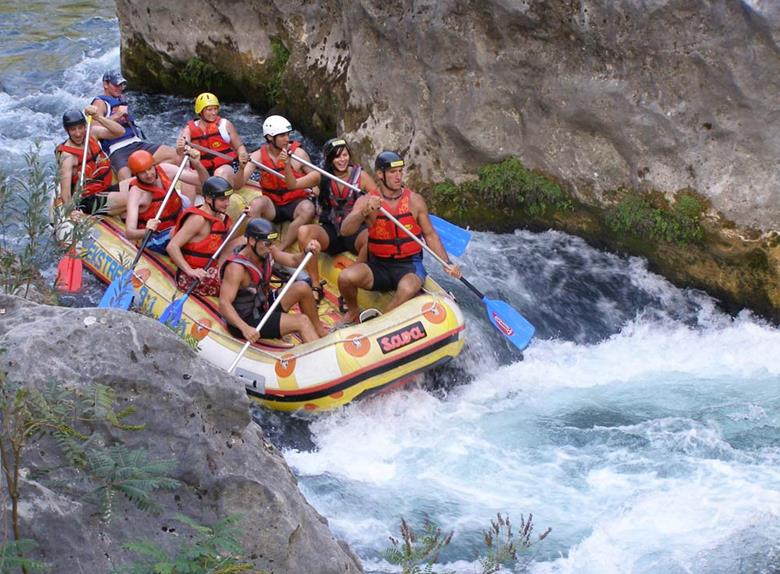 Rafting Tour on Cetina River from Split or Makarska Rivijera