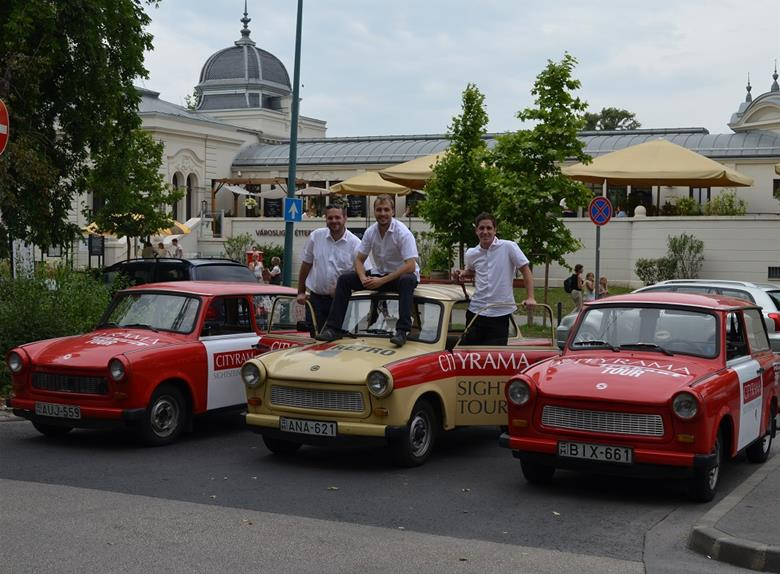 Explore Budapest in a Trabant 3-Hour City Tour