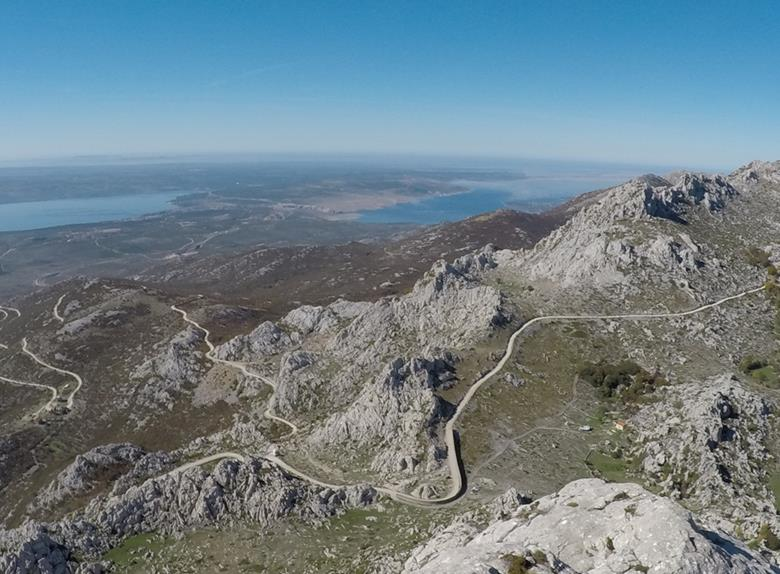 Full Day Private Hike and Bike Tour in Velebit Nature Park from Zadar